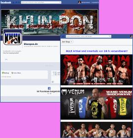 facebook Seite für Khunpon