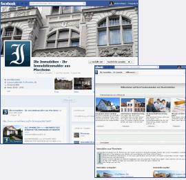 facebook Seite für ille Imobilien