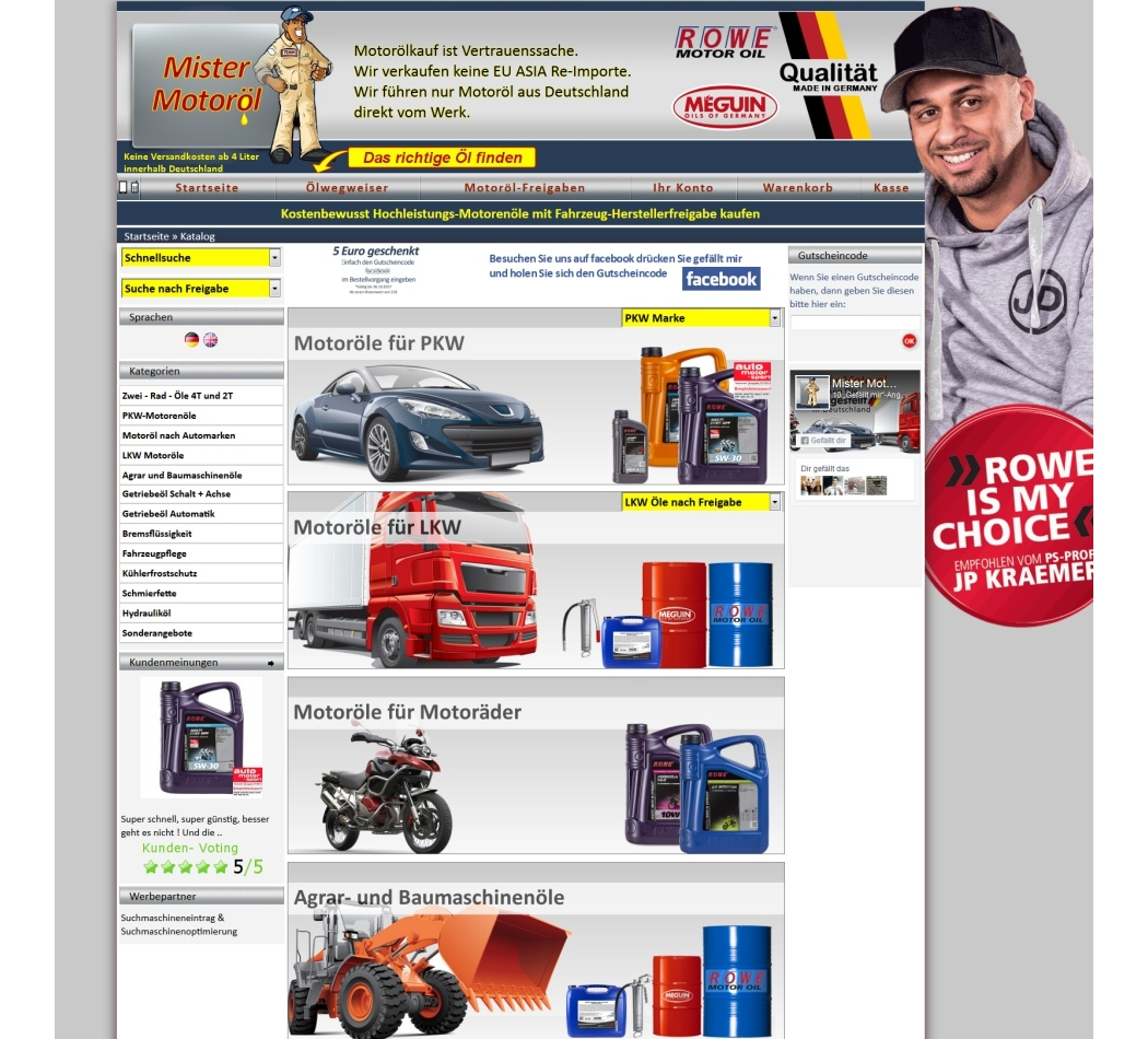 Shop Webdesign Pfalz Germersheim